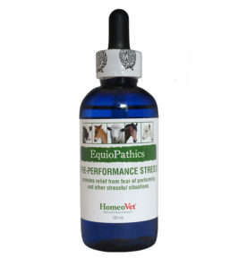 HomeoVet Equio Pre-Performance Stress bottle
