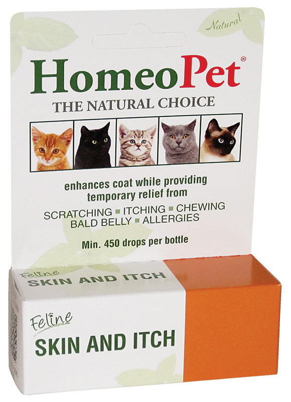 HomeoPet Feline_Skin_And_Itch