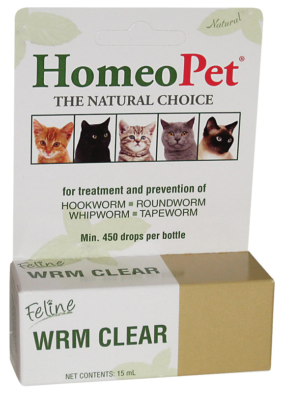 HomeoPet Feline_WRM_Clear