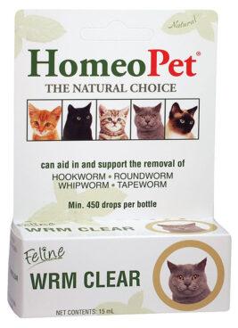 HomeoPet Feline WRM Clear