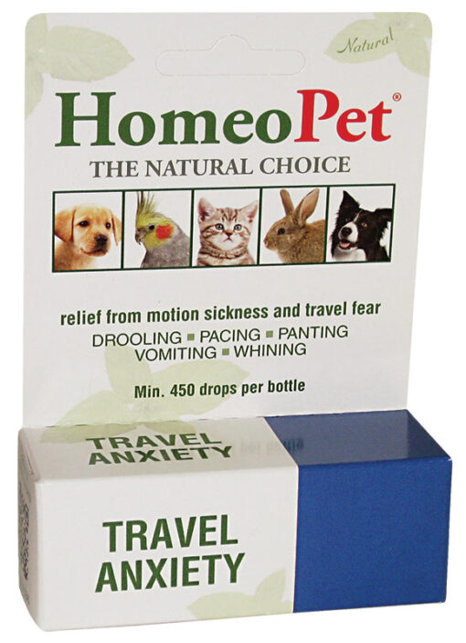 HomeoPet Travel_Anxiety