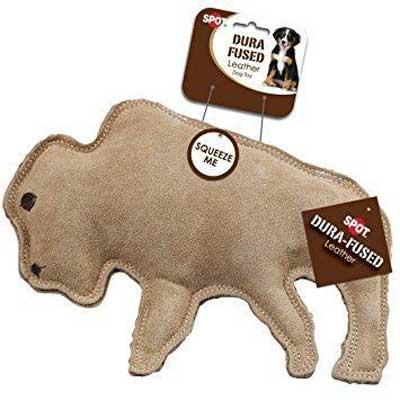 Buffalo-leather-dog-toy