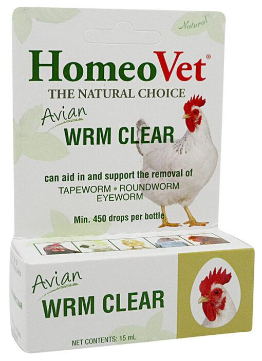 HomeoPet Avian WRM Clear